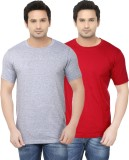 Ben Carter Solid Men's Round Neck Red, G...