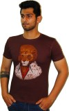 Rebel Gear Graphic Print Men's Round Nec...