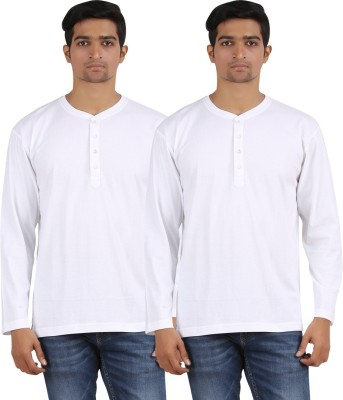 Arowana Solid Men's Henley T-Shirt