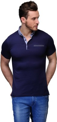 Buckland Solid Men's Polo Blue T-Shirt