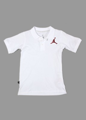 Jordan Solid Boy's Polo T-Shirt