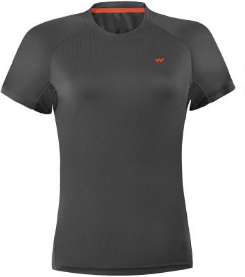 Wildcraft Solid Women's Round Neck T-Shirt