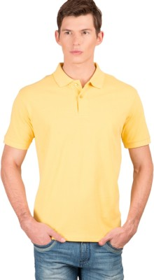 Wilkins & Tuscany Solid Men's Polo Neck T-Shirt