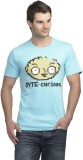 Family Guy Printed Men's Round Neck Blue...