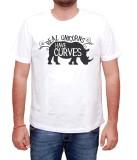 13Karma Printed Men's Round Neck White T...