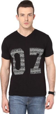 Cherymoya Applique Men's V-neck T-Shirt