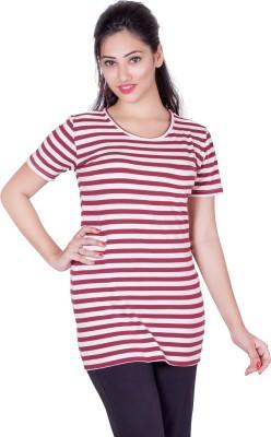 Earls777 Striped Women's Round Neck T-Shirt
