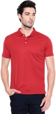 shrayst fashion Solid Men's Polo Red T-Shirt