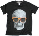 Sixthbase Printed Men's Round Neck Black...