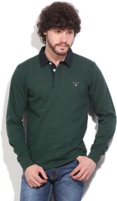 Gant Solid Men's Green T-Shirt