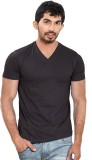 Wear Your Opinion Solid Men's V-neck Bla...