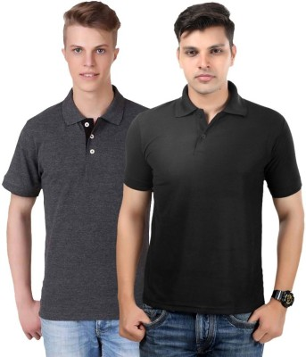 Kvell Be Proud Solid Men's Polo Neck T-Shirt