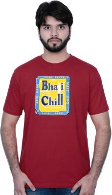 Punjabi Heritage Printed Men,s Round Neck T-Shirt