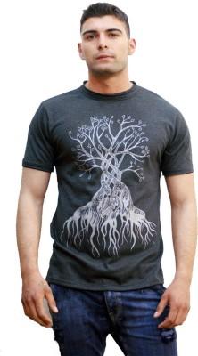 TUNTUK Printed Men's Round Neck T-Shirt