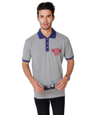 Yepme Solid Men's Polo Neck T-Shirt