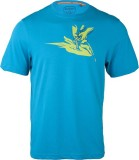 Wildcraft Printed Men's Round Neck Blue ...