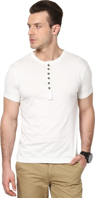 Cherymoya Solid Men's Henley T-Shirt