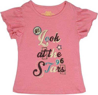 Chalk by Pantaloons Printed Girl's Round Neck T-Shirt