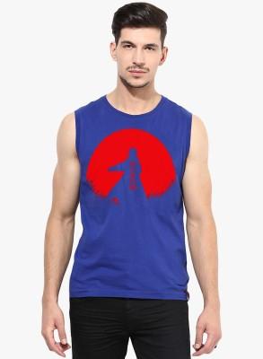 l,appel Du Vide Printed Men's Round Neck T-Shirt