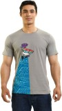 Dexter Graphic Print Men's Round Neck Gr...
