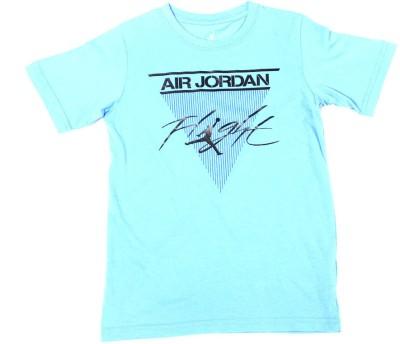 Jordan Kids Solid Boy's Round Neck T-Shirt