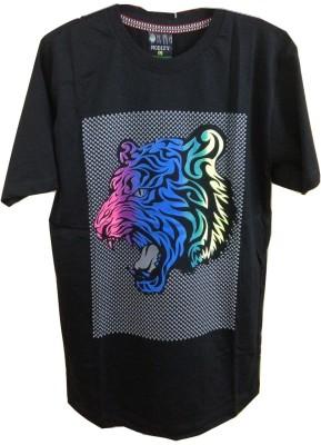 Rools Printed Men's Round Neck T-Shirt