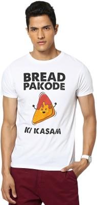 Gabambo Graphic Print Men's Round Neck White T-Shirt
