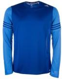 Adidas Solid Men's Polo Neck Blue T-Shir...