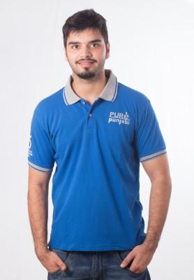 Punjabi Heritage Printed Men,s Polo T-Shirt
