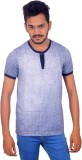 BOMBAY BLUES Printed Men's Round Neck Li...
