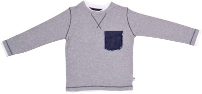 PRANAVA Solid Baby Boy's Round Neck T-Shirt