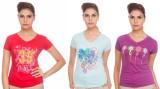 TSG Breeze Printed Women's V-neck T-Shir...