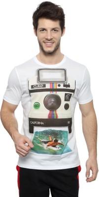 Ajile by Pantaloons Printed Men's Round Neck T-Shirt