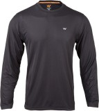 Wildcraft Solid Men's Round Neck Black T...