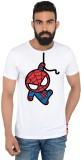 Marvel Printed Men's Round Neck White T-...