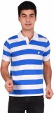 Crush on Craze Striped Men's Polo Neck B...