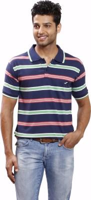 Right Shape Striped Men's Polo Multicolor T-Shirt