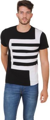 Cherymoya Striped Men's Round Neck T-Shirt