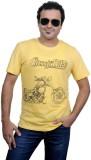 Jonny Blaze Graphic Print Men's Round Ne...