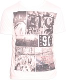 Parv Collections Boys Printed (White)