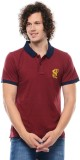 Swiss Polo Solid Men's Polo Neck T-Shirt