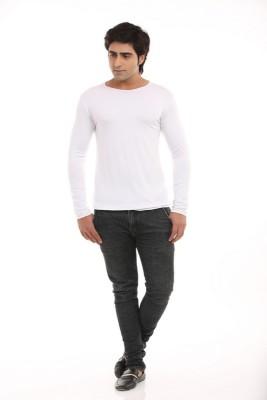 Designerkarts Solid Men's Round Neck T-Shirt