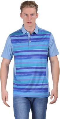 Euro Open Printed Men's Polo Multicolor T-Shirt