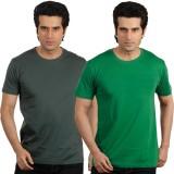 Maya Solid Men's Round Neck T-Shirt