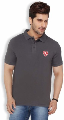Live In Solid Men's Polo Grey T-Shirt