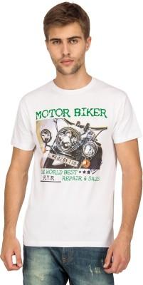 Bluesaint Graphic Print Men's Round Neck T-Shirt
