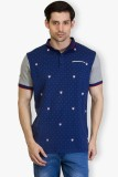 Taanz Solid Men's Polo Neck T-Shirt