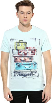 Octave Printed Men's Round Neck T-Shirt