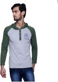 Era of Attitude Solid Men's Hooded Green...