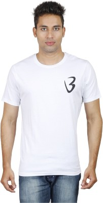 Being Odia Graphic Print Men's Round Neck White T-Shirt